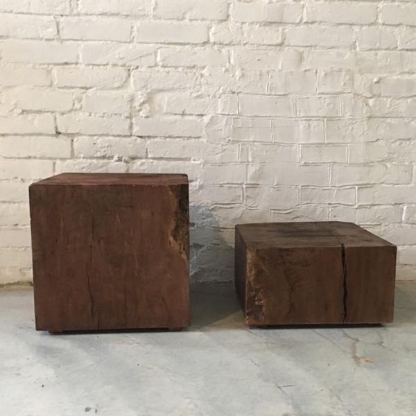 teak cube