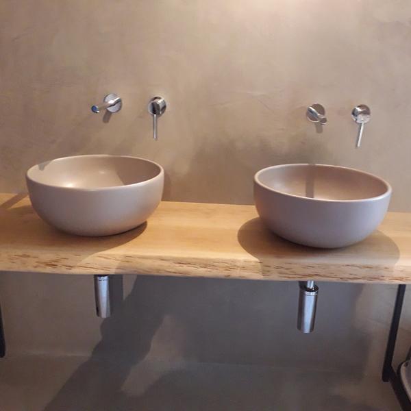 top doppio lavabo