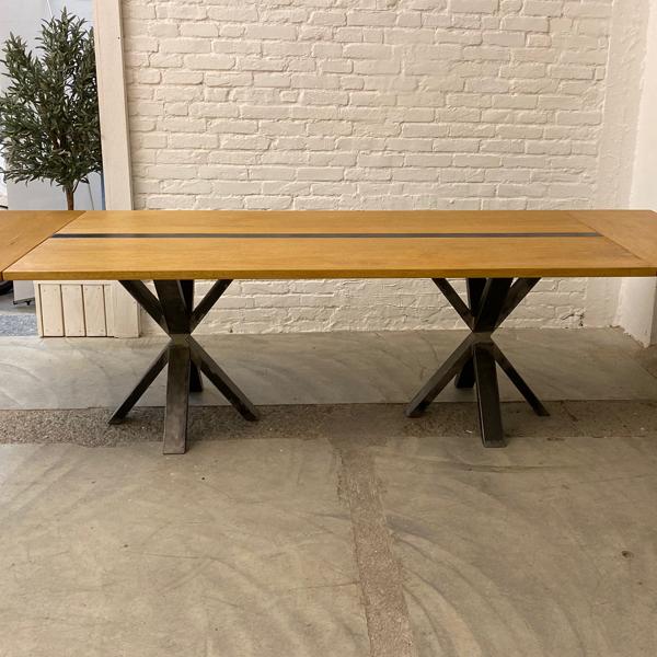 tavolo gamba X_allungabile1