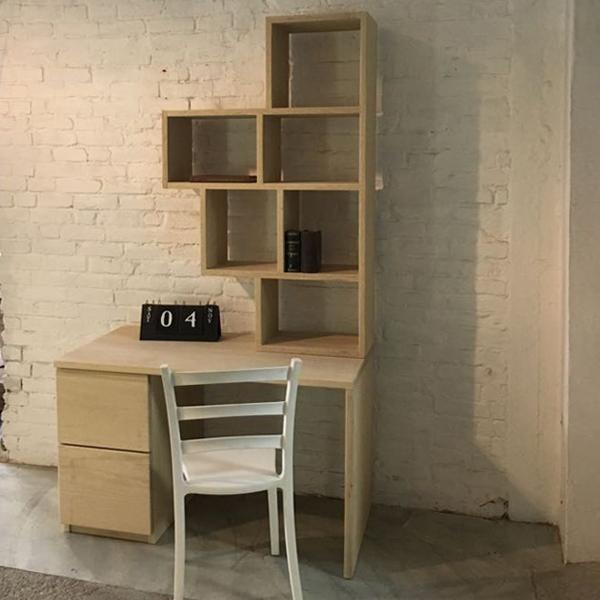 libreria piccola _Tetris_ scrivania_Frakè