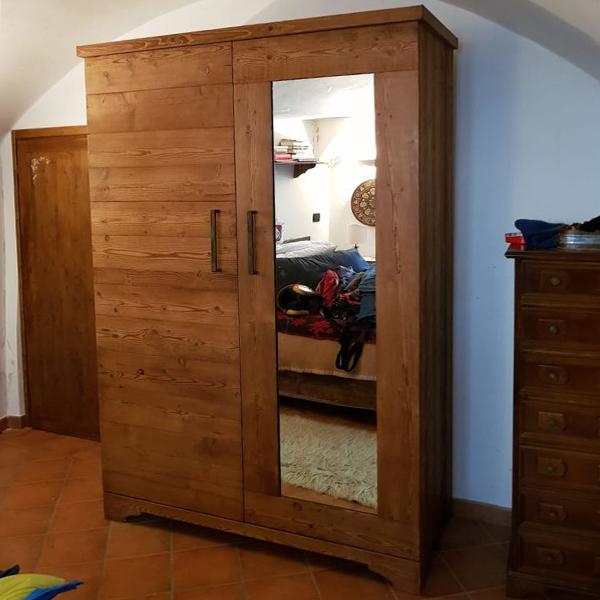 armadio larice_specchio1