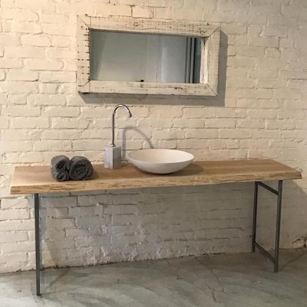 mobile bagno rovere-ferro1