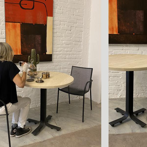 tavolo tondo d90