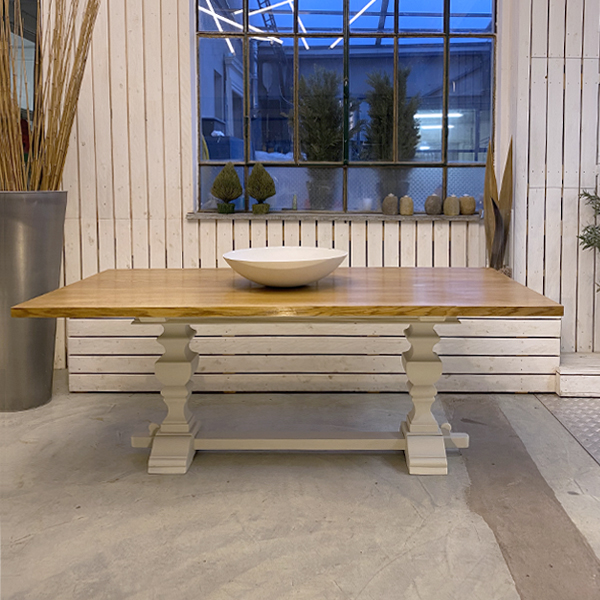 tavolo rovere colonne1