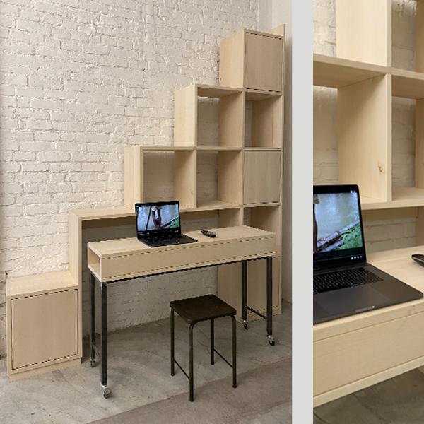 libreria porta tastiera estraibile 2
